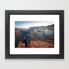 observation point Framed Art Print