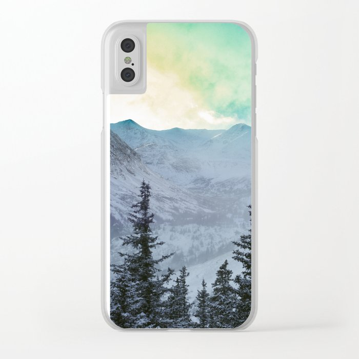 Rock Candy Mountain Clear iPhone Case