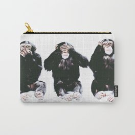 The three wise monkeys Carry-All Pouch
