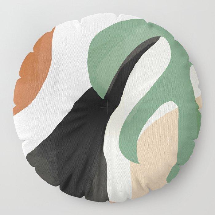 Abstract Art 37 Floor Pillow