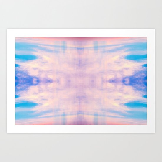 Perfect Day on The Water Art Print