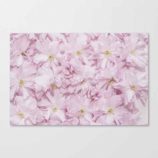Sakura- cherryblossoms pattern Canvas Print