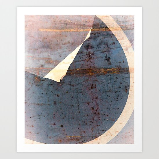 overlaps III Art Print