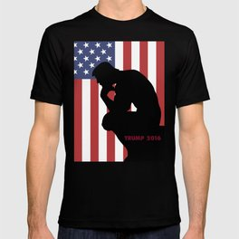 Trump The Thinker T-shirt