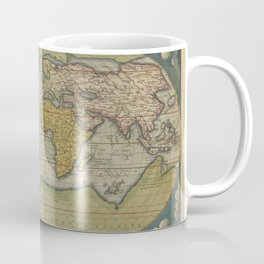 World Map 1570 Coffee Mug