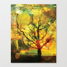 AbstractTree Canvas Print