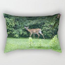 Caught Unaware (Deer) Rectangular Pillow