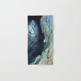 Labradorite Crystal Watercolor Hand & Bath Towel