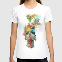 pink T-shirts featuring Dream Theory by Archan Nair