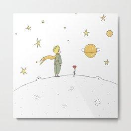 Little Prince II Metal Print