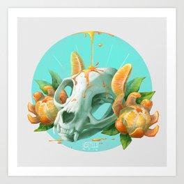 Clem-mew-tine Art Print
