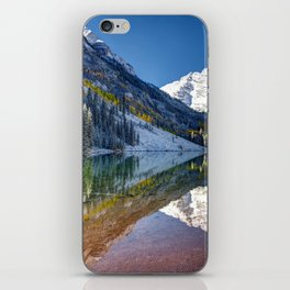 Maroon Bells Colorado iPhone Skin