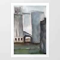 Building No. 9 Art Print