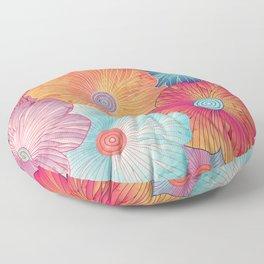 Big flowers Floor Pillow