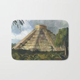 Mayan Pyramid Bath Mat
