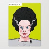 lichtenstein Canvas Prints featuring The Bride of Lichtenstein by John Tibbott