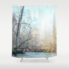 Begin Again Shower Curtain
