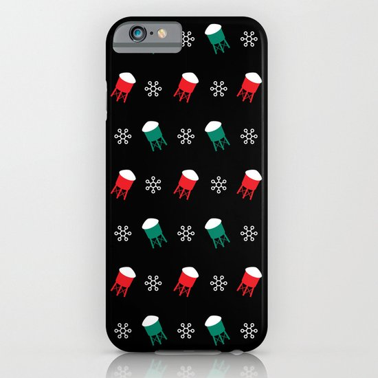 Water Towers and Snowflakes: 2012 Limited Edition Pattern iPhone & iPod Case