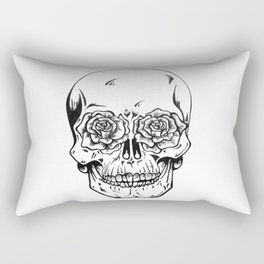 Skull  Rectangular Pillow