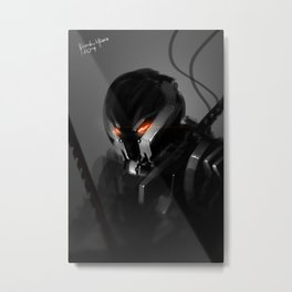 Darkfall Maverick Metal Print