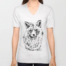 Pretty Fox Unisex V-Neck