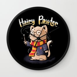 Hairy Pawter Wall Clock
