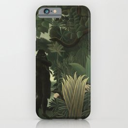 Henri Rousseau The Snake Charmer iPhone Case