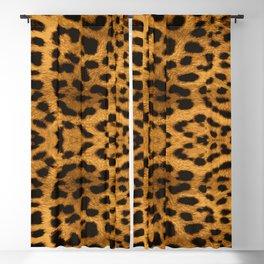 Baesic Leopard Print Blackout Curtain