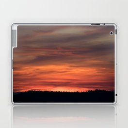 Fire Does Not Respect Bias Laptop & iPad Skin