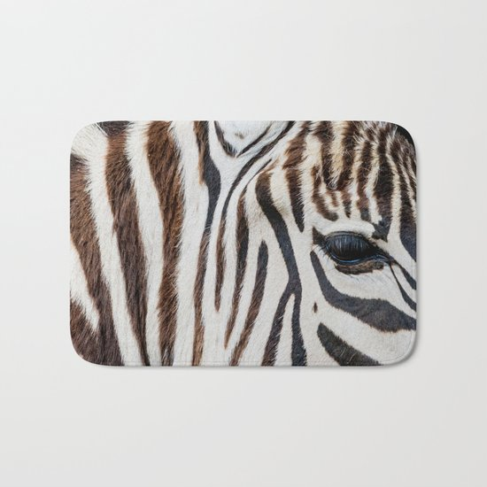 EYE OF THE ZEBRA Bath Mat