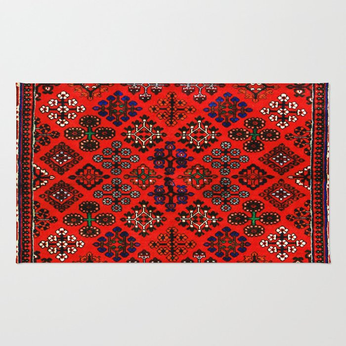 -A30- Red Epic Traditional Moroccan Carpet Design. Rug