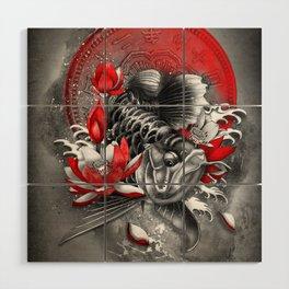 Arowana Dragon Fish Wood Wall Art