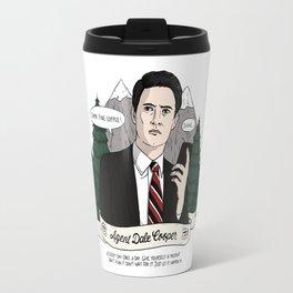 Twin Peaks (David Lynch) Agent Dale Cooper Travel Mug