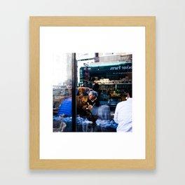 Stranger Places Framed Art Print