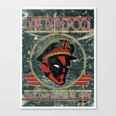 Dan Darepool: Insane Ninja-Merc of the Future Canvas Print
