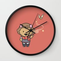 gryffindor Wall Clocks featuring Gryffindor by Kiell R.