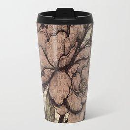 Peonies  - Color Travel Mug