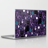 kittens Laptop & iPad Skins featuring Halloween Kittens  by Carly Watts