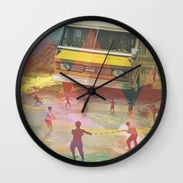Travel Insurance Wall Clock