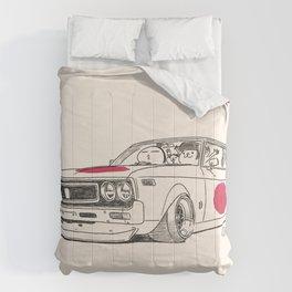 Crazy Car Art 0162 Comforters