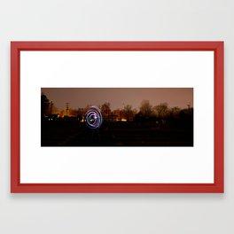 NIKE Site N93 - Flashlight Art Framed Art Print