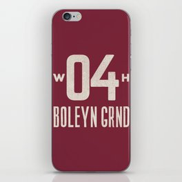 Upton Park Football Ground iPhone Skin