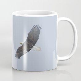 Soaring - Bald Eagle and Blue Sky Coffee Mug