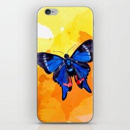Blue Phoenix iPhone Skin