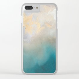 Oceania by Tori Clear iPhone Case