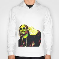 rasta Hoodies featuring Rasta Snoop by dkazbar