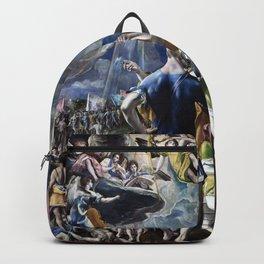"El Greco (Domenikos Theotokopoulos) ""The Martyrdom of Saint Maurice"" Backpack"