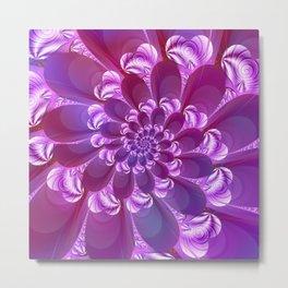 Sweet Hearts purple Metal Print