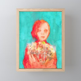 She Daisy Framed Mini Art Print