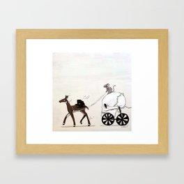 Different Path Framed Art Print